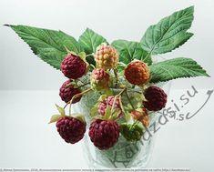Мастер-класс по изготовлению листьев и ягод малины из фоамирана, подробные фото