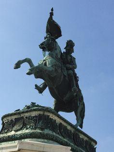 Wspaniały pomnik w Wiedniu
