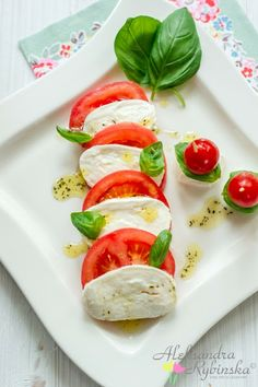 Aleksandra's Recipes: Caprese di mozzarella di bufala