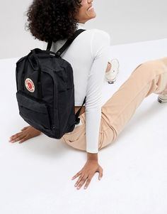 feac516d9fed2 Fjallraven kanken classic black backpack