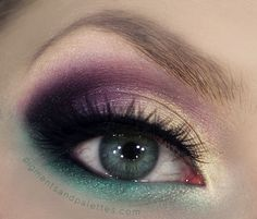 """Gold, Purple & Emerald Birthday Party Makeup + Tutorial ~ """" Pigments & Palettes """" 