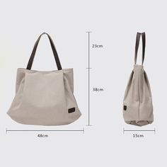 Hiigoo Womens Casual Handbag Big Shoppingbags Bucket Canvas Shoulder Bags Brown * You can get more details by clicking on the image. (This is an affiliate link) #MichaelKorsHandbags