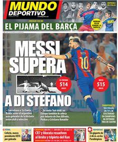 Portada Mundo Deportivo, jueves 15 de septiembre de 2016