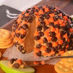 """Halloween Peanut Butter """"Cheese Ball"""" - Holidays"""