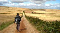 On my bucket list...El Camino de Santiago de Compostela. I pray I can walk this pilgrimage some day!
