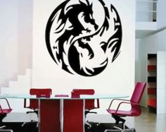 Game of Thrones Decor 3D Dragon Wall Decal by hipandclavicle