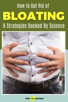 Stomach bloating after meals can be incredibly uncomfortable. Research shows that 10 to 25% of healthy people experience it to some degree, yet most don't do anything about it. It's even more common among those with gastrointestinal disorders, such as IBS. Fortunately, diet changes alone can help to relieve or prevent most cases. This article explores what is scientifically shown to help stop bloating. Ibs Bloating, Relieve Bloating, Stomach Bloating, Quick Weight Loss Diet, Weight Loss Tea, How To Lose Weight Fast, How To Stop Bloating, Getting Rid Of Bloating, Fodmap Diet