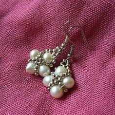 handmade by Shenny: I znów perły. / Pearls again.