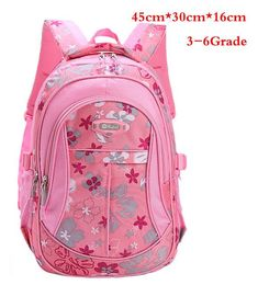 a188523ffd Floral Printing Children School Bags Backpack For Teenage Girls Boys  Teenagers Trendy Kids