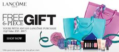 Lancome GWP at Boscov's. A promo code required. | Lancome Gift ...