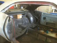 My 1972 Challenger Rallye being restored