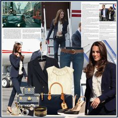 Style Diary: Kate Middleton., created by ashleypetrova on Polyvore