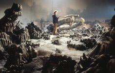 Visual effects artist Jon Sorenson posted a stunning series of photos from the set of Ridley Scott's classic film Alien. Alien 1979, Xenomorph, Rooney Mara, Harley Quinn, Saga Alien, Alien Alien, Harry Dean Stanton, Sci Fi Models, Aliens Movie