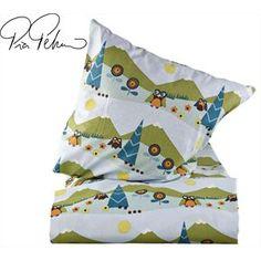 Baby sengetøj med landskab blå/grøn - bilka.dk