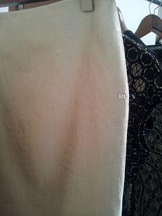 Alexander McQueen Spring 2013 Resee - Bee motif on pencil skirt