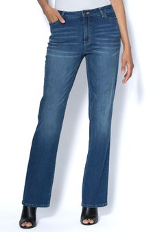 b35b25dbe6d Denim 24 7® Tall Bootcut Jeans With Invisible Stretch® Waistband