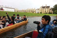 İhlas Koleji İngiltere yaz kampı Cambridge kano turu