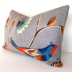 Decorative Designer Pillow Cover  Lumbar Pillow  by Loubella1, $34.00