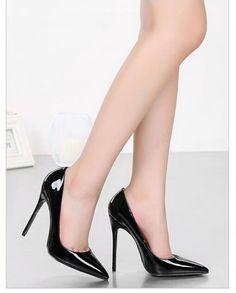 Марка Обуви Женщина Высокие Каблуки Насосы Красный Высокие Каблуки 12 СМ Женщин обувь Высокие Каблуки Свадебная Обувь Насосы Черные…
