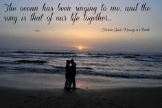 Nicholas Sparks quote from message in a bottle