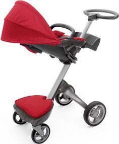 Stokke stroller, the best way to get my baby around. Great for tall Mums and Dads