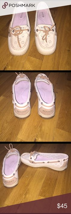 Women's sperrys Never worn!!! Very cute! Perfect condition. Sperry Top-Sider Shoes