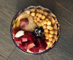 Beet Hummus Recipe with Garlic - Vegan Family Recipes