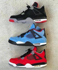 Jordan Shoes Girls, Air Jordan Shoes, Boys Shoes, Jordan 4, Sneakers Fashion, Shoes Sneakers, Cute Nike Shoes, Nike Shoes Air Force, Aesthetic Shoes