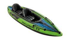 Intex Challenger Kayak, Inflatable Kayak Set with Aluminum Oars and High Output Air Pump: Sports & Outdoors Best Fishing Kayak, Bass Fishing, 2 Seater Kayak, Kayaks For Sale, Recreational Kayak, Backpacking, Camping, Inflatable Kayak, San Juan