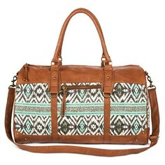Women's Aztec Print Weekender Handbag Mint - Mossimo Supply Co : Target Mint Purse, Cool Style, My Style, Daddys Girl, Mossimo Supply Co, Cute Jewelry, Girly Things, Girly Stuff, Weekender