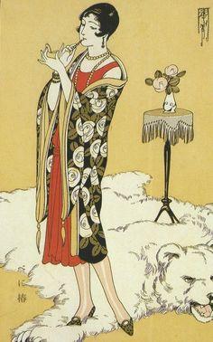 originalgiantcontent: Kasho Takabatake, 1920s. 高畠華宵