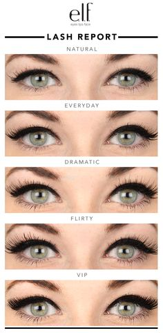 If you love drama on the eyes, you're going to be obsessed with our lashes! Check out the difference between each pair and match to different makeup looks for a beautiful effect. First timer? Click through for the step-by-step!