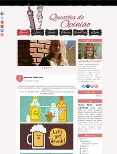 Cantinho do blog Layouts e Templates para Blogger: Personalização de Blog Feminino