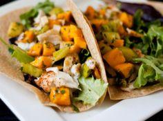 Yum... Id Pinch That! | Fish Taco with Mango Sauce