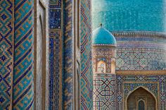 Samarkand, Uzbekistan >> Amazing architecture and such beautiful colors!