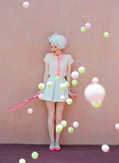 Bubble gum Pastels