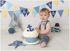 nautical cake smash - Recherche Google