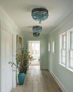 ooh.... color scheme. walls and light wood floors, white trim. Love :)