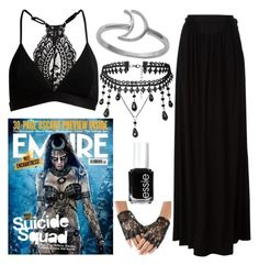 """Enchantress~"" by jessi666 ❤ liked on Polyvore featuring Just Cavalli, Midsummer Star, Essie, DC and SuicideSquad"