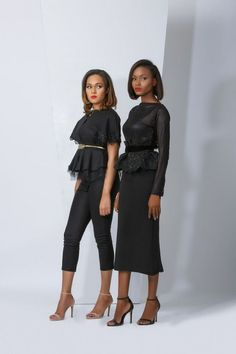 MAJU Releases 2015 Ready-to-Wear Collection! Featuring Wizkid's Girlfriend Tania Omotayo And Banke Su | FashionGHANA.com: 100% African Fashion