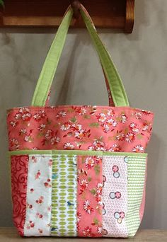 Watermelon Tote This Pretty Tote Will Ease Busy Days - Quilting Digest