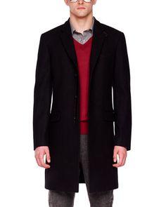 Men's Michael Kors Melton Crombie Coat