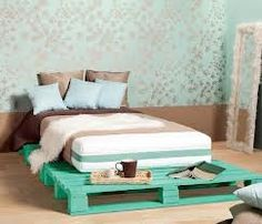 what im gunna do with all my future beds in the house.. pallet bedframe!!