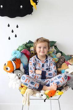 Une super idée pour recycler doudous et peluches quand l'enfant grandit ©Jesusauvage