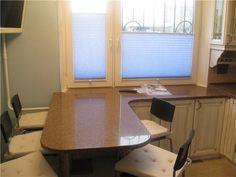 Столешница-подоконник на кухне (47 фото) - видео, фото, инструкция по установке своими руками