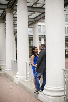 Vintage Engagement Session In Atlanta By Fotos By Fola Mathilda