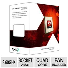 Tigerdirect Computer Part  AMD FX-4100 3.60 GHz Quad Core AM3+ Unlocked CPU $94.99 After Coupon 15 Off Use coupon at checkoutKJO81658  1/28/2013 11:59 PM ET