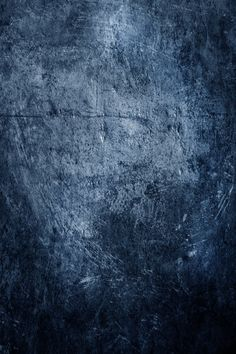 scraped blue