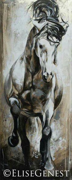 Cubano Genest horse gray