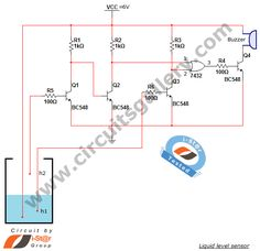 Water level sensor circuit: projects for school students